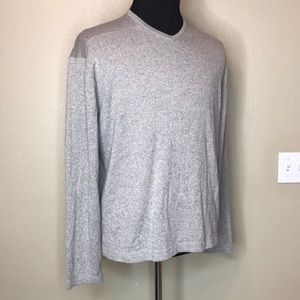 BRANDINI V-Neck Cream Men's Sweater XL